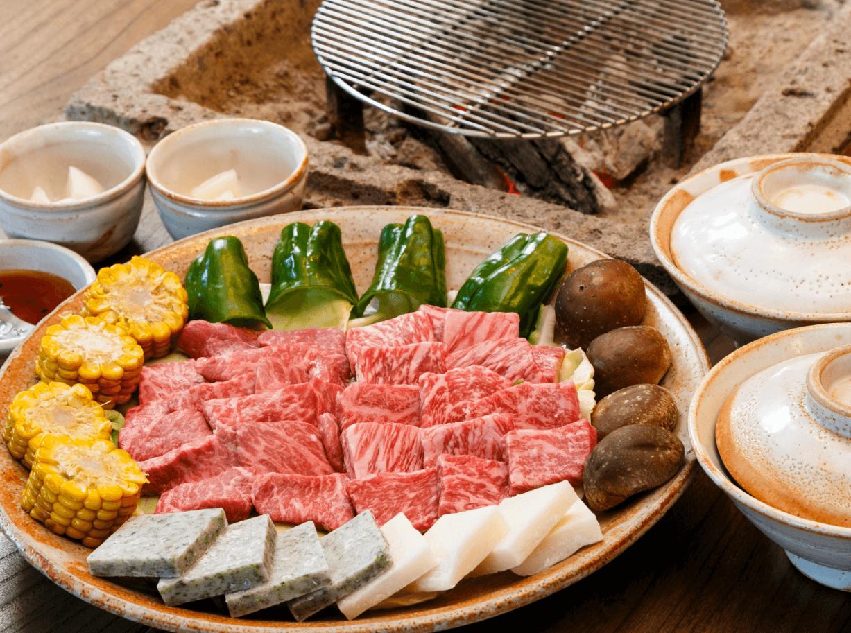炭火焼き|常陸牛料理ひたち野